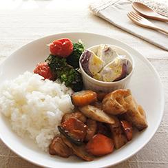 冬の野菜をたっぷり使用したワンプレートレシピ